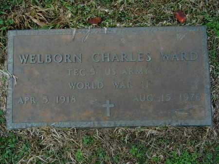 WARD, WELBORN CHARLES (VETERAN WWII) - Union County, Louisiana | WELBORN CHARLES (VETERAN WWII) WARD - Louisiana Gravestone Photos
