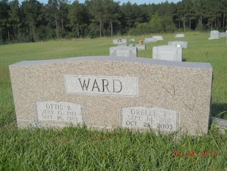 WARD, OTTIS BERNARD - Union County, Louisiana | OTTIS BERNARD WARD - Louisiana Gravestone Photos