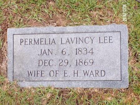 WARD, PERMELIA LAVINCY - Union County, Louisiana | PERMELIA LAVINCY WARD - Louisiana Gravestone Photos