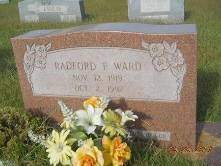 WARD, RADFORD F - Union County, Louisiana   RADFORD F WARD - Louisiana Gravestone Photos