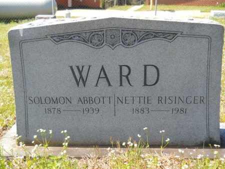 WARD, SOLOMON ABBOTT - Union County, Louisiana | SOLOMON ABBOTT WARD - Louisiana Gravestone Photos