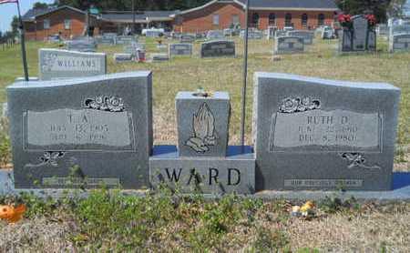 WARD, RUTH - Union County, Louisiana | RUTH WARD - Louisiana Gravestone Photos
