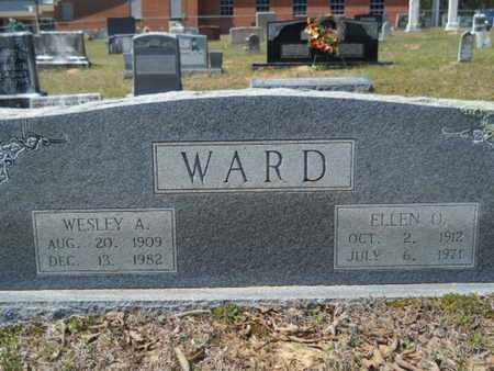 WARD, ELLEN O - Union County, Louisiana | ELLEN O WARD - Louisiana Gravestone Photos