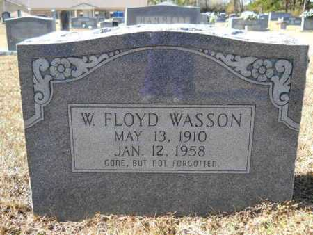 WASSON, W FLOYD - Union County, Louisiana | W FLOYD WASSON - Louisiana Gravestone Photos