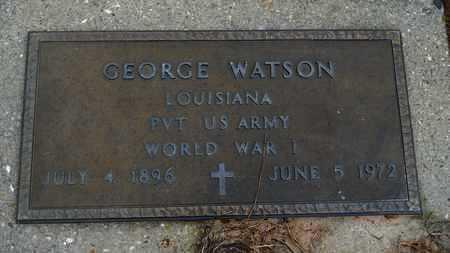 WATSON, GEORGE (VETERAN WWI) - Union County, Louisiana | GEORGE (VETERAN WWI) WATSON - Louisiana Gravestone Photos