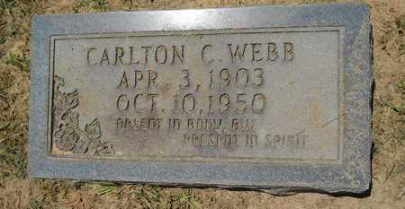 WEBB, CARLTON C - Union County, Louisiana   CARLTON C WEBB - Louisiana Gravestone Photos