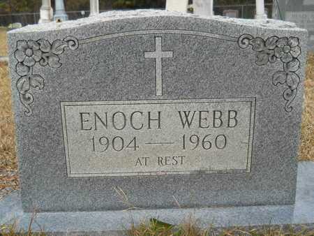 WEBB, ENOCH - Union County, Louisiana   ENOCH WEBB - Louisiana Gravestone Photos