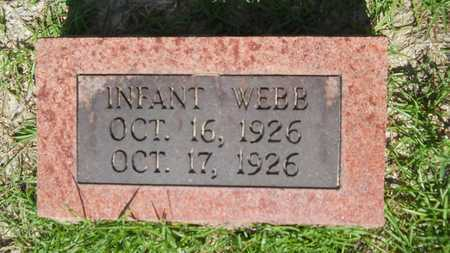 WEBB, INFANT - Union County, Louisiana | INFANT WEBB - Louisiana Gravestone Photos