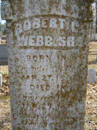 WEBB, ROBERT C, SR - Union County, Louisiana | ROBERT C, SR WEBB - Louisiana Gravestone Photos