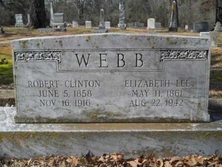 WEBB, ELIZABETH LEE - Union County, Louisiana   ELIZABETH LEE WEBB - Louisiana Gravestone Photos