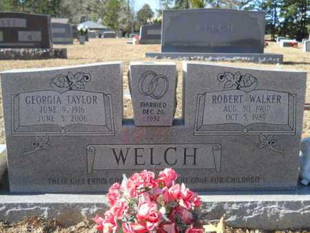 TAYLOR WELCH, GEORGIA - Union County, Louisiana | GEORGIA TAYLOR WELCH - Louisiana Gravestone Photos