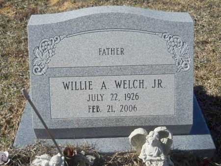 WELCH, WILLIE A, JR - Union County, Louisiana | WILLIE A, JR WELCH - Louisiana Gravestone Photos