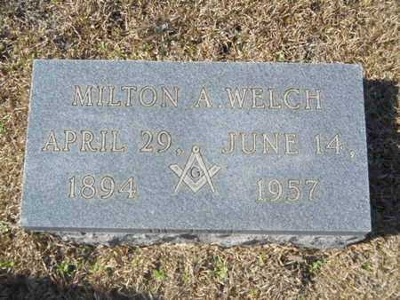 WELCH, MILTON A - Union County, Louisiana | MILTON A WELCH - Louisiana Gravestone Photos