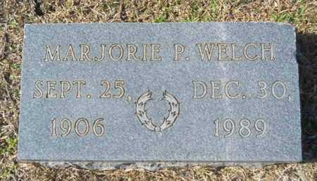 WELCH, MARJORIE P - Union County, Louisiana | MARJORIE P WELCH - Louisiana Gravestone Photos