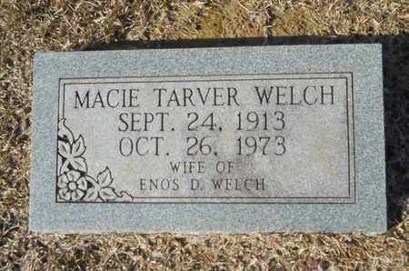 TARVER WELCH, MACIE - Union County, Louisiana | MACIE TARVER WELCH - Louisiana Gravestone Photos