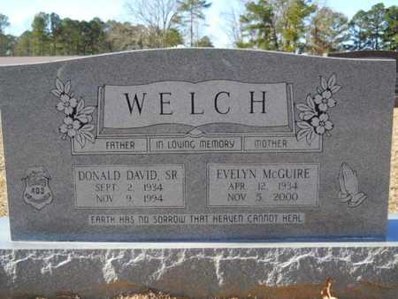 WELCH, DONALD DAVID, SR - Union County, Louisiana | DONALD DAVID, SR WELCH - Louisiana Gravestone Photos