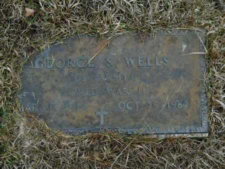 WELLS, GEORGE S (VETERAN WWII) - Union County, Louisiana   GEORGE S (VETERAN WWII) WELLS - Louisiana Gravestone Photos