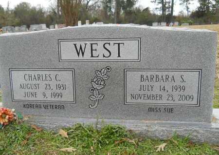 WEST, BARBARA S - Union County, Louisiana | BARBARA S WEST - Louisiana Gravestone Photos