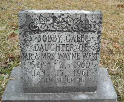 WEST, BOBBY GALE - Union County, Louisiana | BOBBY GALE WEST - Louisiana Gravestone Photos