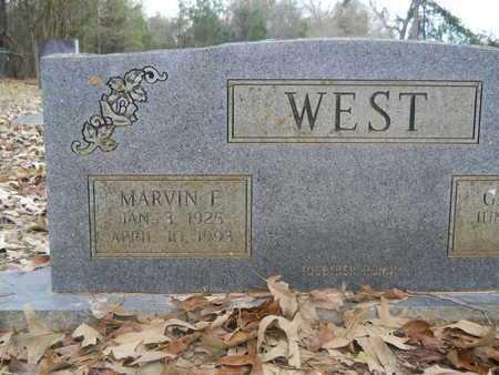 WEST, MARVIN F - Union County, Louisiana   MARVIN F WEST - Louisiana Gravestone Photos