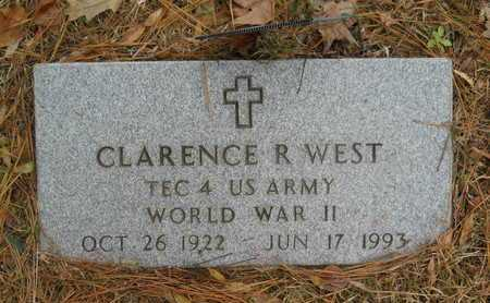 WEST, CLARENCE R (VETERAN WWII) - Union County, Louisiana | CLARENCE R (VETERAN WWII) WEST - Louisiana Gravestone Photos