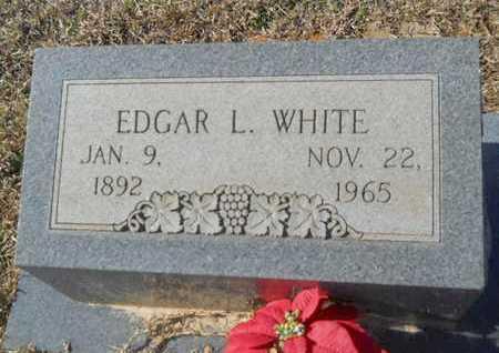 WHITE, EDGAR L - Union County, Louisiana | EDGAR L WHITE - Louisiana Gravestone Photos