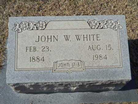 WHITE, JOHN W - Union County, Louisiana | JOHN W WHITE - Louisiana Gravestone Photos