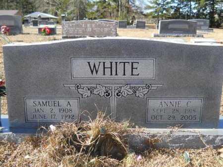 WHITE, SAMUEL A - Union County, Louisiana   SAMUEL A WHITE - Louisiana Gravestone Photos