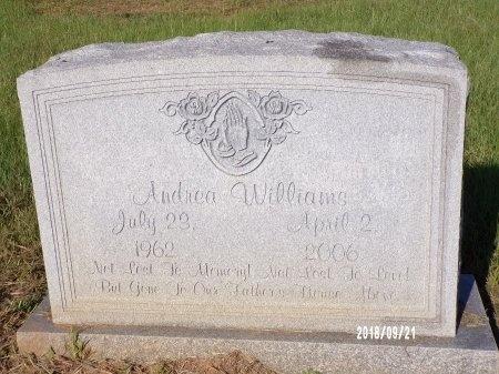 WILLIAMS, ANDREA - Union County, Louisiana | ANDREA WILLIAMS - Louisiana Gravestone Photos