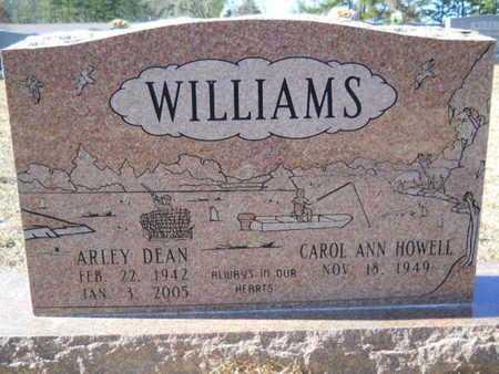 WILLIAMS, ARLEY DEAN - Union County, Louisiana | ARLEY DEAN WILLIAMS - Louisiana Gravestone Photos