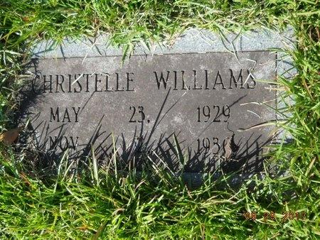WILLIAMS, CHRISTELLE - Union County, Louisiana | CHRISTELLE WILLIAMS - Louisiana Gravestone Photos