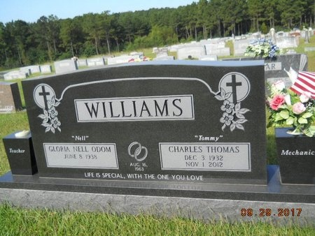 "WILLIAMS, CHARLES THOMAS ""TOMMY"" - Union County, Louisiana 