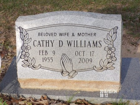 WILLIAMS, CATHY D - Union County, Louisiana | CATHY D WILLIAMS - Louisiana Gravestone Photos