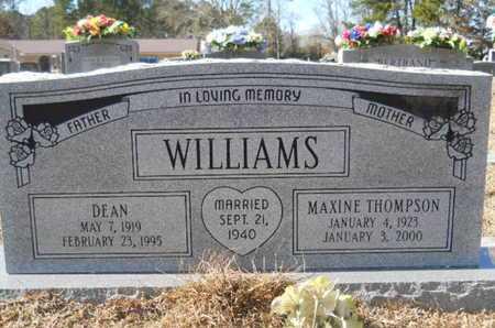 WILLIAMS, DEAN - Union County, Louisiana | DEAN WILLIAMS - Louisiana Gravestone Photos