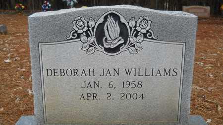 WILLIAMS, DEBORAH JAN - Union County, Louisiana | DEBORAH JAN WILLIAMS - Louisiana Gravestone Photos