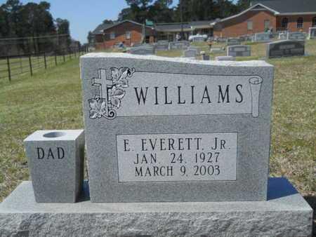 WILLIAMS, E EVERETT, JR - Union County, Louisiana | E EVERETT, JR WILLIAMS - Louisiana Gravestone Photos