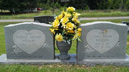 WILLIAMS, EARNEST EDWARD - Union County, Louisiana | EARNEST EDWARD WILLIAMS - Louisiana Gravestone Photos