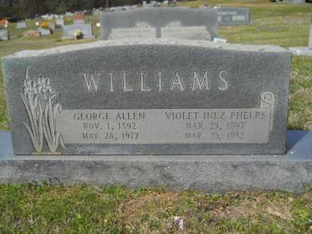 WILLIAMS, GEORGE ALLEN - Union County, Louisiana   GEORGE ALLEN WILLIAMS - Louisiana Gravestone Photos