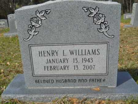 WILLIAMS, HENRY L - Union County, Louisiana | HENRY L WILLIAMS - Louisiana Gravestone Photos