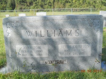 COMPTON WILLIAMS, JESSIE - Union County, Louisiana | JESSIE COMPTON WILLIAMS - Louisiana Gravestone Photos