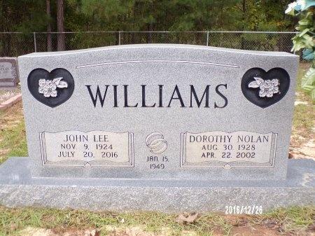 WILLIAMS, JOHN LEE - Union County, Louisiana   JOHN LEE WILLIAMS - Louisiana Gravestone Photos