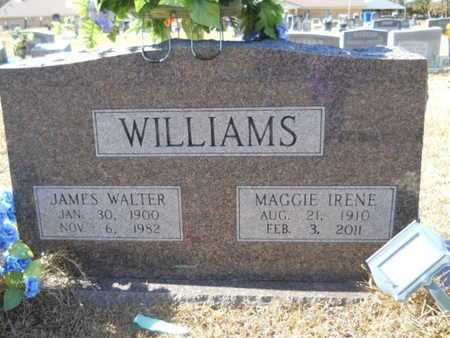 WILLIAMS, JAMES WALTER - Union County, Louisiana | JAMES WALTER WILLIAMS - Louisiana Gravestone Photos