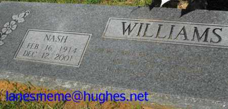 WILLIAMS, NASH - Union County, Louisiana | NASH WILLIAMS - Louisiana Gravestone Photos