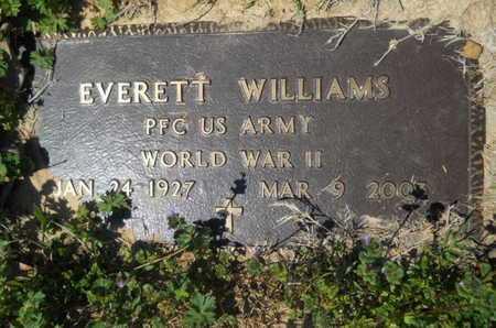 WILLIAMS, EVERETT (VETERAN WWII) - Union County, Louisiana | EVERETT (VETERAN WWII) WILLIAMS - Louisiana Gravestone Photos
