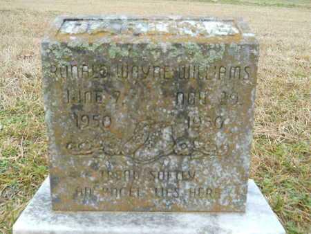 WILLIAMS, RONALD WAYNE - Union County, Louisiana   RONALD WAYNE WILLIAMS - Louisiana Gravestone Photos