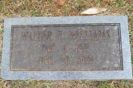 WILLIAMS, WALTER F - Union County, Louisiana | WALTER F WILLIAMS - Louisiana Gravestone Photos