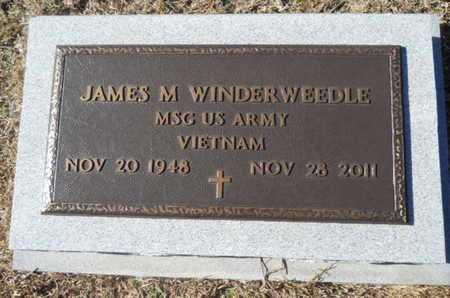 WINDERWEEDLE (, JAMES M (VETERAN VIET) - Union County, Louisiana | JAMES M (VETERAN VIET) WINDERWEEDLE ( - Louisiana Gravestone Photos