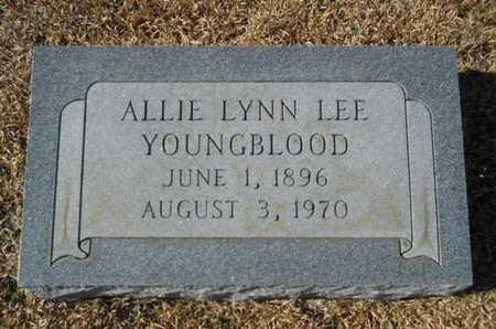 YOUNGBLOOD, ALLIE LYNN - Union County, Louisiana | ALLIE LYNN YOUNGBLOOD - Louisiana Gravestone Photos