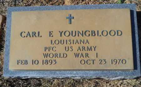 YOUNGBLOOD, CARL E (VETERAN WWI) - Union County, Louisiana | CARL E (VETERAN WWI) YOUNGBLOOD - Louisiana Gravestone Photos