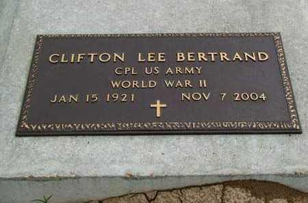 BERTRAND, CLIFTON LEE  (VETERAN WWII) - Vermilion County, Louisiana | CLIFTON LEE  (VETERAN WWII) BERTRAND - Louisiana Gravestone Photos